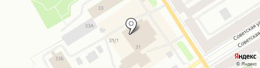 Сэлдом на карте Норильска
