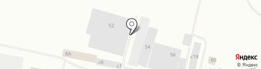 Стоянка №1 на карте Норильска