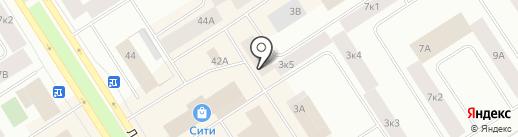 Адвокатский кабинет Стрелкова В.Б. на карте Норильска