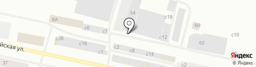 Стоянка №2 на карте Норильска