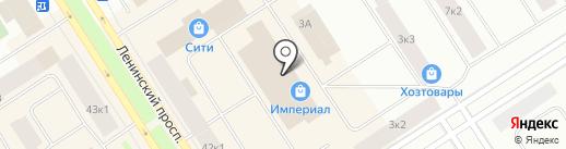 Магазин пультов и светотехники на карте Норильска