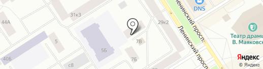 ЛяВи на карте Норильска