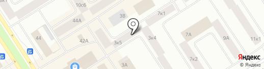 СОВЕТ, КПК на карте Норильска