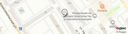 Межрегиональное технологическое управление Федеральной службы по экологическому, технологическому и атомному надзору в г. Норильске на карте Норильска