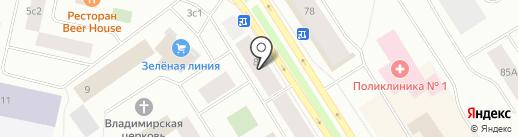 ДизайнПроектСтрой на карте Норильска