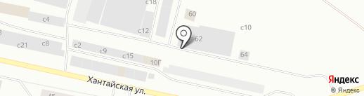 Стоянка №4 на карте Норильска
