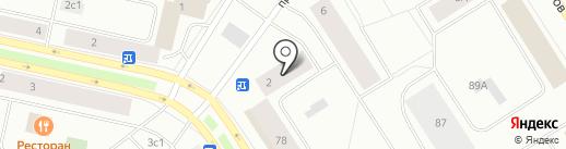 Беркат на карте Норильска