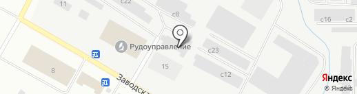 Автоусто на карте Норильска
