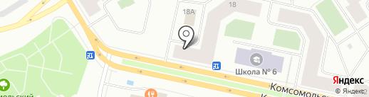 Стейк House на карте Норильска