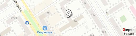 Кабинета офтальмолога на карте Норильска