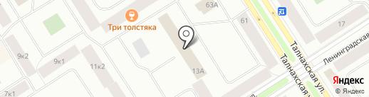 Отделение лицензионно-разрешительной работы на карте Норильска