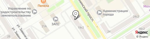 Банкомат, ХАНТЫ-МАНСИЙСКИЙ БАНК ОТКРЫТИЕ на карте Норильска