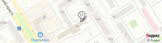 Норильский городской архив на карте Норильска