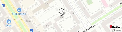 NORDTEK на карте Норильска