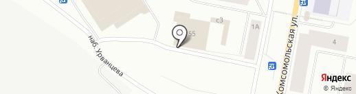 Магазин автозапчастей на карте Норильска