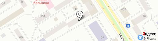 Оганер-Комплекс на карте Норильска