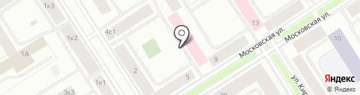 Телефон доверия на карте Норильска