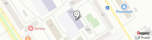 Детский сад №24 на карте Норильска