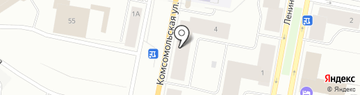 Мастерская по ремонту обуви на Комсомольской на карте Норильска