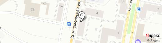 Два друга на карте Норильска