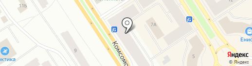 Центр автоматизации торговли на карте Норильска