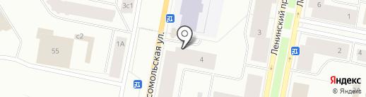 Магазин канцелярии и учебной литературы на карте Норильска