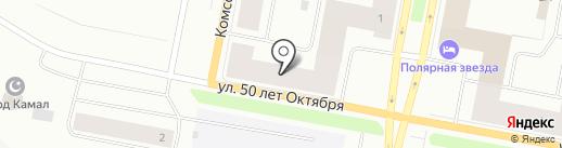 Бюро праздничных услуг на карте Норильска