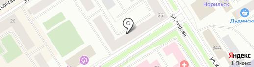 Эдельвейс на карте Норильска