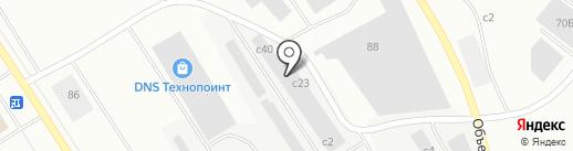 Аврора на карте Норильска