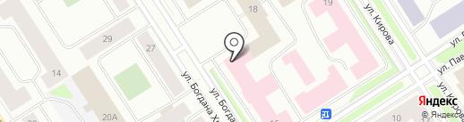 Центр занятости населения г. Норильска на карте Норильска