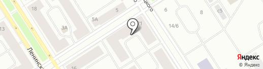 Таймырский центр автострахования на карте Норильска