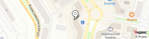 Норд Тревел на карте Норильска