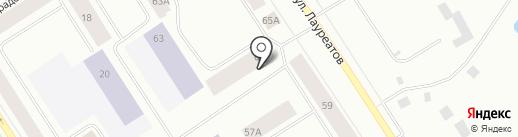 Санитар на карте Норильска