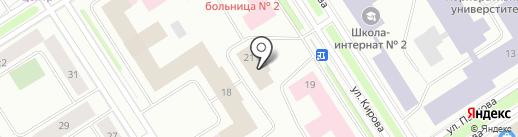 Отдел охраны труда на карте Норильска
