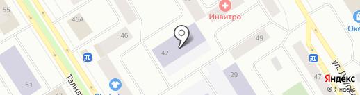 Средняя общеобразовательная школа №28 на карте Норильска