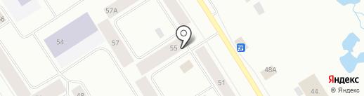 Kraftway на карте Норильска