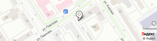 Чиполлино на карте Норильска