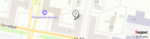 FastMoney на карте Норильска