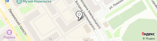 Таймырская топливная компания на карте Норильска