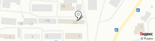 Автокадабра на карте Норильска