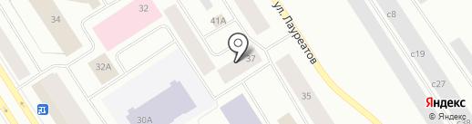 Старт на карте Норильска
