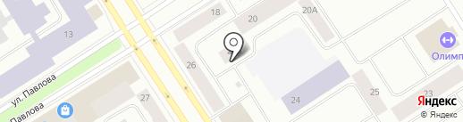 Участковый пункт полиции №10 на карте Норильска