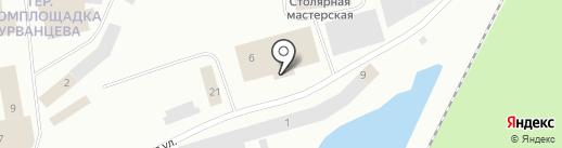 Северный бастион на карте Норильска