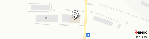 Автобаня на карте Норильска