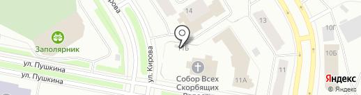 Православная Русь на карте Норильска