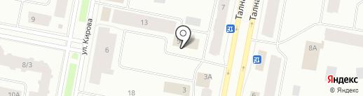 ЖКС на карте Норильска