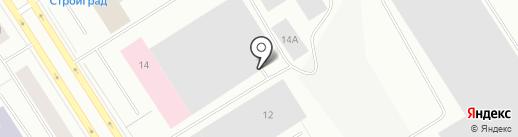 Автоотель на карте Норильска