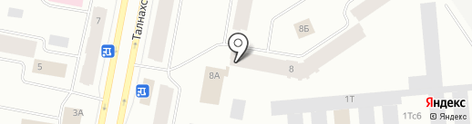 Молодежный центр, МБУ на карте Норильска