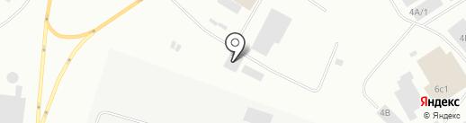Рено-сервис на карте Норильска
