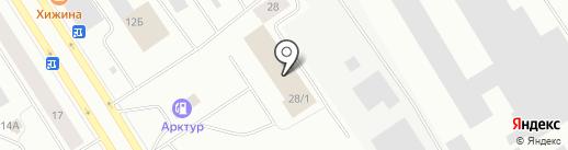 Пожарная часть №35 на карте Норильска